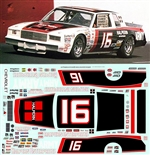#16 Halpen Enterprises David Pearson 1981 Decal (1/25)