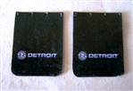 Detroit Diesel Truck Mud Flap Set (1/25)