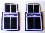 El Camino Car Mat Set (1/25)