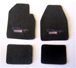 Charger Car Mat Set (1/25)
