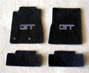 Mustang GT Car Mat Set (1/25)