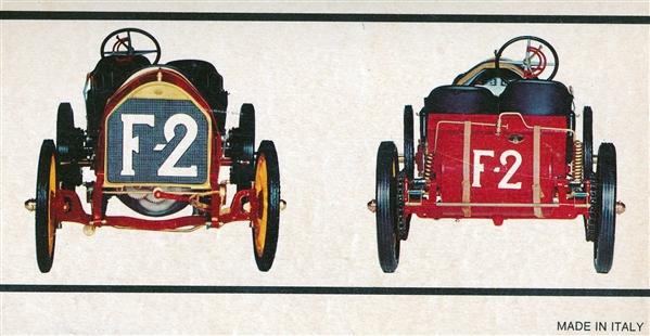 Pocher 1:8 Teile 1907 Fiat Grand Prix De France K70 neu 395 I2
