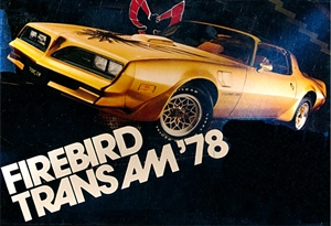 1978 Pontiac Firebird Trans Am Promo Kit (Molded in Platinum) (1/25) (fs)