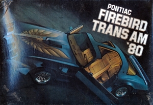 1980 Pontiac Firebird Trans Am Promo Kit (Starlight Black) (1/25) (fs)