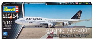 "Boeing 747-400 Iron Maiden ""Ed Force One"" (1/144) (fs)"