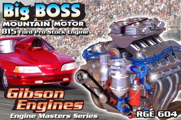 Master Cylinder Price >> Big Boss Mountain Motor 815 Ford Pro Stock Drag Engine ...