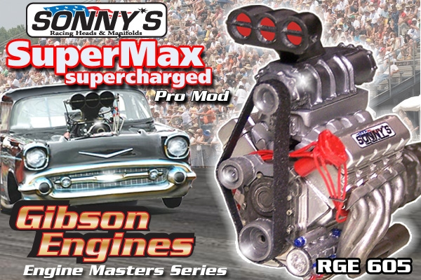 sonnys supermax supercharged pro mod drag engine master series  fs