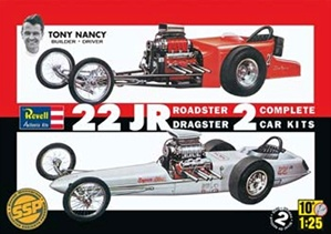 Tony Nancy 22 Jr. Double Dragster (1/25) (fs)