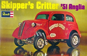 1951 Ford Anglia 'Skipper's Critter' (1/25) (fs) 1970 Issue