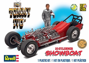 Tommy Ivo's Showboat with Figure (1/25) (fs)