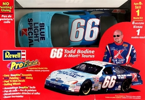 2001 Ford Taurus Todd Bodine #66 Kmart-Blue Light Special' Pro Finish Snap Kit (1/24) (fs)