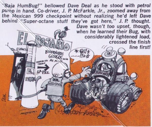 Revell Monogram 1739 Dave Deal/'s Baja HumBug plastic model kit 1//25
