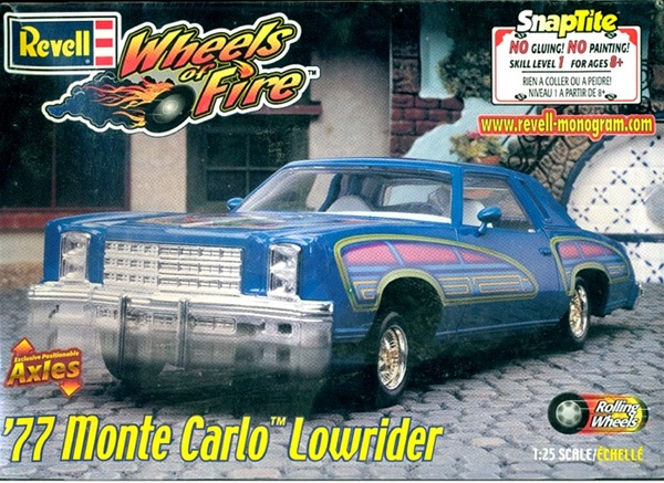 1977 Monte Carlo Lowrider 1 24 Fs