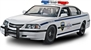 2005 Chevrolet Impala 4 door Police Car Snap kit (1/25) (fs)