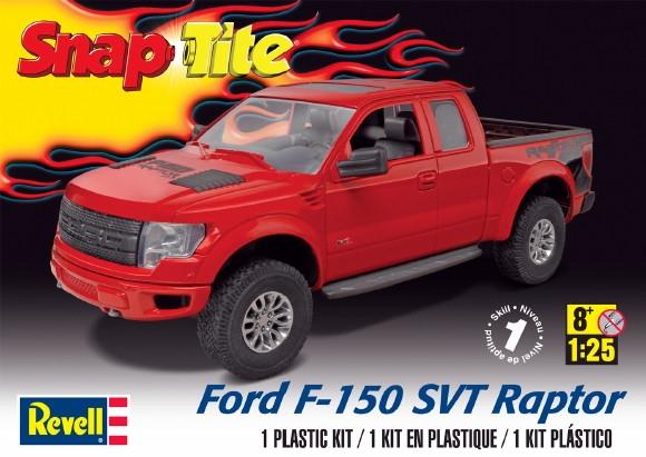 Most Comfortable Pickup >> 2014 Ford SVT F-150 Raptor Pickup Snap-Tite (1/25) (fs)