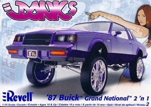 1987 Buick Grand National (2 'n 1) Donk or Stock (1/24) (fs)