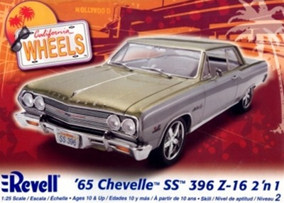1965 Chevelle SS-396 Z-16 (2 'n 1) Stock or Custom (1/25) (fs)