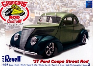 1937 Ford Coupe Street Rod (1/24) (fs)