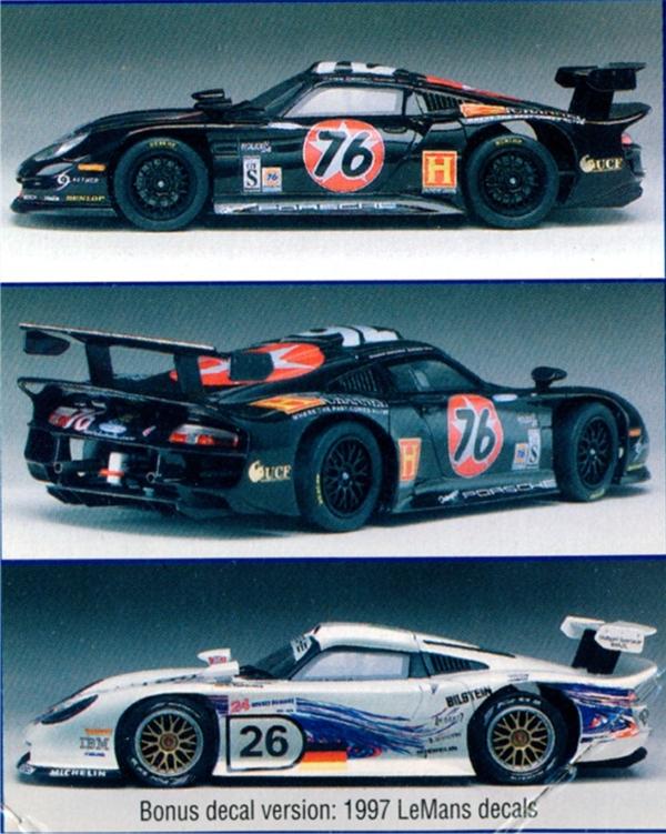 Porsche GT-1 EVO 'Texaco/History Channel' (1/24) (fs)