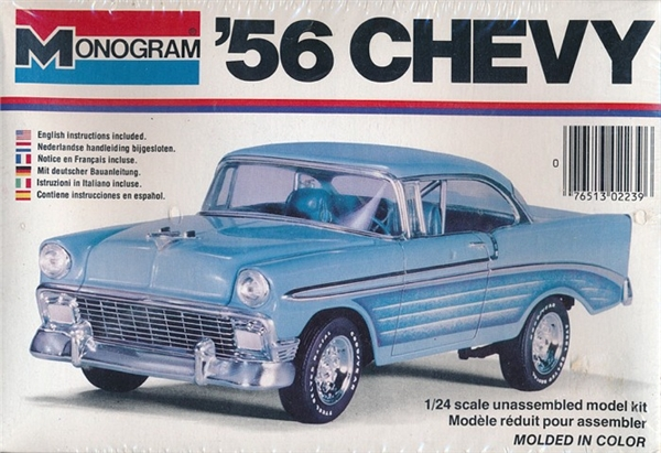1956 Chevy Bel Air Street Machine 1 24 Fs
