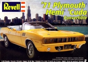 1971 Plymouth Barracuda Convertible  (1/25) (fs)