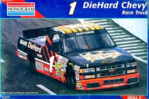1996 Chevy Nastruck Diehard # 1 Mike Chase (1/24) (fs)