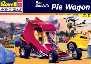 Pie Wagon Show Car by Tom Daniel (1/24) (fs)