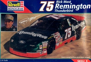 1997 Ford Thunderbird Remington # 75 Rick Mast  (1/24) (fs)