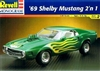 1969 Ford Mustang Shelby (2 'n 1) (1/25) (fs)