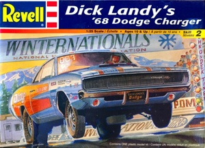 1968 Dick Landy Dodge Charger  (1/25) (fs)