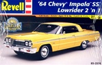 1964 Chevy Impala (2 'n 1) Stock or Lowrider (1/25) (fs)