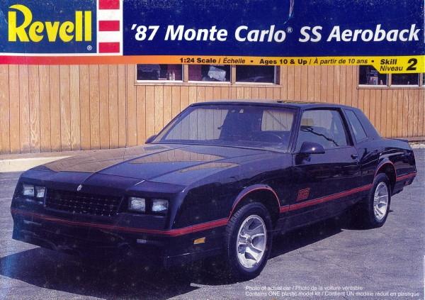 1987 Chevrolet Monte Carlo SS Aeroback (1/24) (fs)