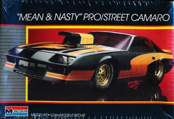 Image result for revell monogram pro street camaro