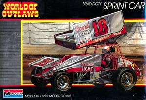 "1987 Brad Doty # 18 Winged Sprint Car ""World of Outlaws""  Coors Light  (1/24) (fs)"