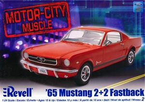 1965 Ford Mustang 2 + 2 Fastback  (1/24) (fs)