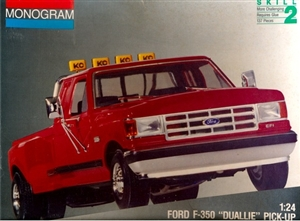 "1991 Ford F-350 ""Duallie"" Pickup (1/24) (si)"
