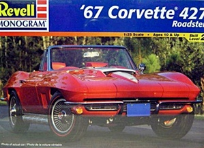 1967 Corvette Convertible 427 (1/25) (fs)