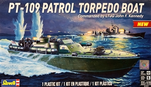 "PT-109 Patrol Torpedo Boat Commanded by LTJG John F. Kennedy (1/72) (fs) <br><span style=""color: rgb(255, 0, 0);"">Just Arrived</span>"