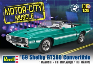 1969 Shelby GT 500 Convertible (1/25) (fs)