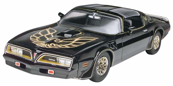 1977 pontiac firebird 39 smokey and the bandit 39 1 25 fs. Black Bedroom Furniture Sets. Home Design Ideas
