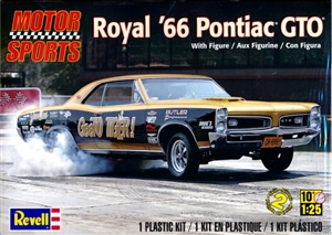1966 Royal GTO with Tiger Figure (1:25) (fs)