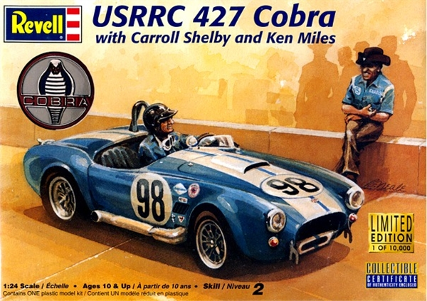 1964 Ford Usrrc 427 Cobra With Carroll Shelby And Ken