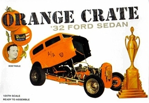 Orange Crate 1932 Ford Altered Sedan by Bob Tindle  (1/25) (fs) 1999 Issue