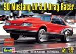 "1990 Mustang LX 5.0 Drag Racer (1/25) (fs)<br><span style=""color: rgb(255, 0, 0);"">Back in Stock</span>"