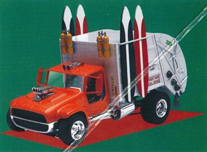 "Garbage Truck ""Surf's Up"" (1/24) (fs)"
