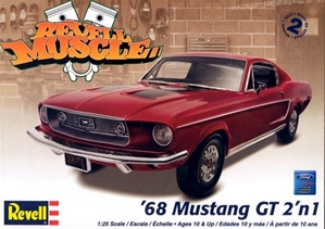 1968 Ford Mustang GT (2 'n 1) (1/25) (fs)