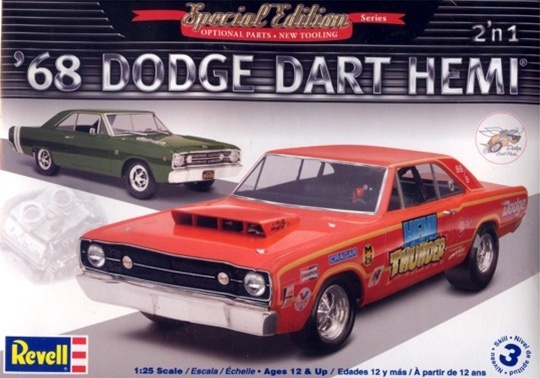 1968 Dodge Dart Hemi 2 N 1 1 25 Fs Back In Stock