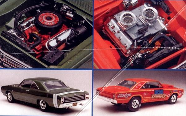 Dodge Performance Parts >> 1968 Dodge Dart Hemi (2 'n 1) 1/25 (fs) Back in Stock