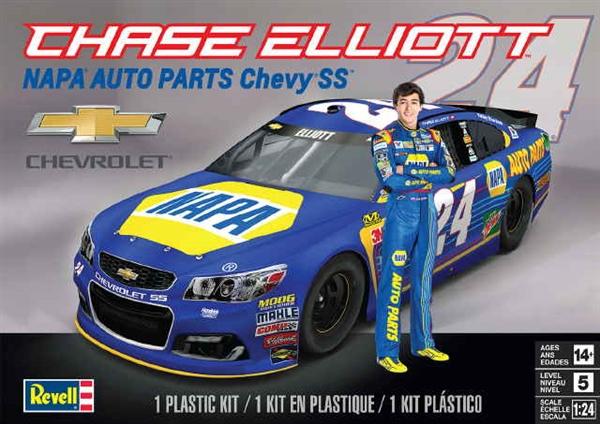 chase elliot 24 napa auto parts chevy ss glue kit 1 24 fs. Black Bedroom Furniture Sets. Home Design Ideas