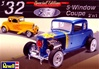 1932 Ford 5-Window Coupe (2 'n 1) Stock or Highboy (1/25) (fs)